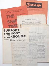 [Activist's archive of materials supporting antiwar GIs at Fort Jackson, South Carolina]