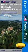 image of North and Mid Wales (OS Travel Series - Tourist Map) (OS Travel Map - Tour Map)