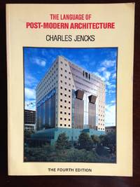 The Language Of Post Modern Architecture By Jencks Charles