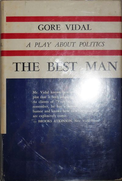 Boston: Little, Brown & Co, 1960. First edition. Hardcover. Very Good +/very good. Stated first edit...