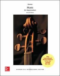 Music: An Appreciation (Int'l Ed)
