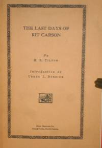 image of The Last Days of Kit Carson