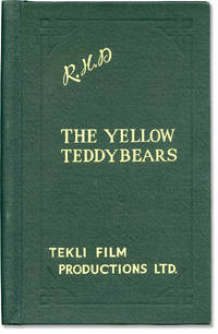 Gutter Girls [The Yellow Teddybears; The Yellow Golliwog] (Original screenplay, director Robert Hartford-Davis' working copy) by  Annette Whiteley (starring)  Georgina Patterson - 1963 - from Royal Books, Inc. (SKU: 120562)