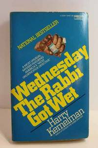 Wednesday the Rabbi Got Wet Please See MY Photo of Cover -- it May Differ