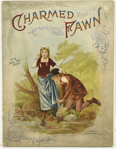 New York: McLoughlin Bros, 1902. Stapled Pamphlet. Very Good binding. Uncommon juvenile storybook fr...
