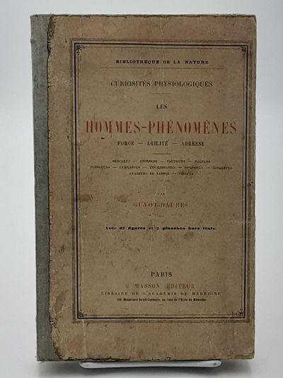 Paris.: Masson. , No Date, circa 1890. Publisher's printed boards. . Good, covers soiled and creased...