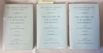 Cambridge, England: The Hakluyt Society by Cambridge University Press, 1968. Octavos. Hard cover wit...