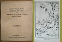Colour Plate Books, Natural History, and Library Editions of English Literature: Catalogue 974: November 1976