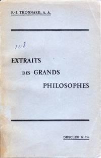 Extraits des grands philosophes.