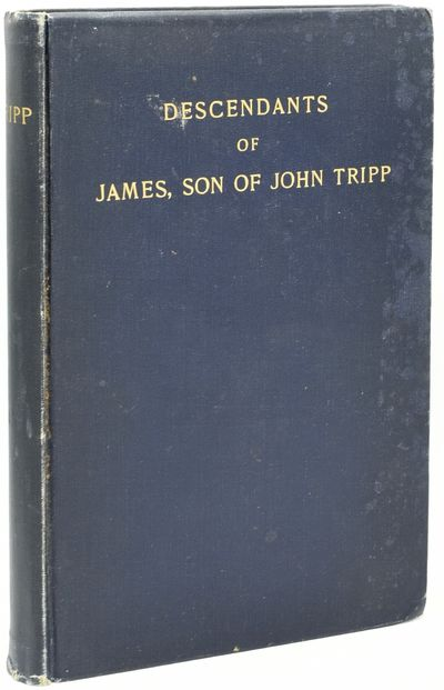 New Bedford, Mass: Vining Press, 1924. Hard Cover. Very Good binding. 8vo.; in the publisher's blue ...