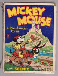 Mickey Mouse in King Arthur's Court with Scenic Pop-up Illustrations