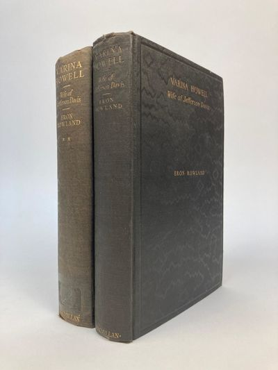 New York: The Macmillan Company, 1927/1931. First Edition. Hardcover. Octavo, 499/583 pages; VG/VG; ...