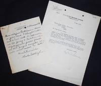 image of Typed letter signed by Captain Reginald R. Belknap to Major Eben Putnam