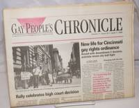 image of Gay People's Chronicle: an independent chronicle of the Ohio Lesbian, Gay, Bisexual, Transgender community; vol. 11, #24, June 7, 1996