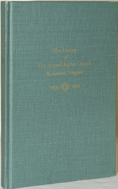Richmond, VA: Whittet & Shepperson, 1970. Hard Cover. Near Fine binding. Inscribed By Author. Signed...