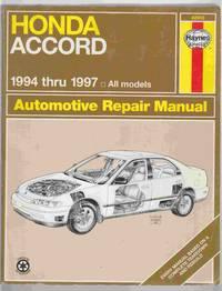 Honda Accord 1994 Thru 1997 Automotive Repair Manual