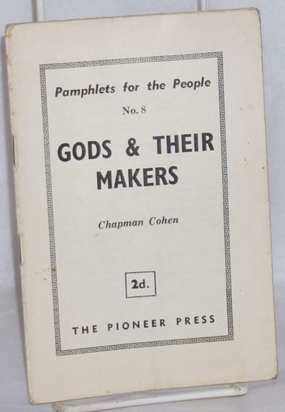 London: The Pioneer Press, n.d.. Pamphlet. 15p., stapled wraps, 5x7.25 inches, wraps worn and staine...