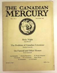 The Canadian Mercury, December 1928