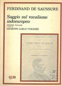 Saggio sul vocalismo indoeuropeo.