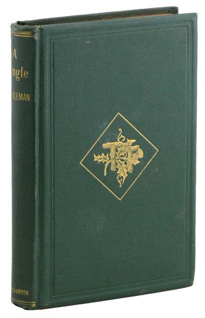 Boston: Oliver Ellsworth, 1867. First edition.. Some trifling wear; a fine copy.. 12mo, original gil...