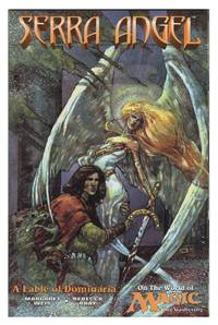 image of Serra Angel on the World of Magic: The Gathering #1