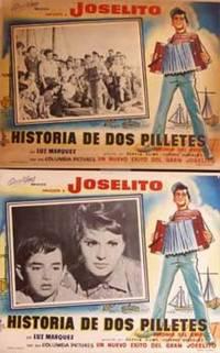 Joselito: los dos pilletes. Con Narciso Busquets, Leopoldo 'Chato' Ortín. (8 tarjetas de vestíbulo de cine, cada con una fotografía diferente)