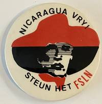 image of Nicaragua vry! Steun het FSLN [pinback button]