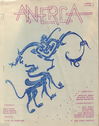 Vancouver: Anerica. Good with no dust jacket. 1987. Stapled wraps. White stapled wraps with purple t...