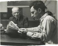 image of Original photograph of Elia Kazan and his father, circa 1950s