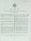 View Image 2 of 2 for Loi Qui fixe l'époque à laquelle s'assembleront chaque année les Conseils de District & de Dépar... Inventory #28341