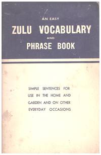 image of An Easy ZULU VOCABULARY  and PHRASE BOOK,