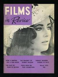 New York: National Board of Review of Motion Pictures. Near Fine. 1970. (Vol. XXI, No. 3). Periodica...