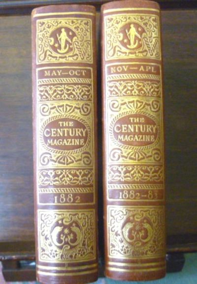 New York, London: The Century Company, F. Warne and Co., 1883. TWO VOLUMES UNIFORMLY BOUND. The boun...