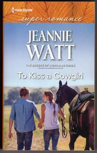 To Kiss a Cowgirl - The Brodys of Lightning Creek(Larger Print)