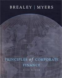 Principles of Corporate Finance (Irwin/McGraw-Hill Series in Finance, Insurance, and Real Est)