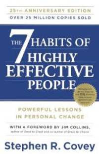 image of The 7 Habits Of Highly Effective People: 25th Anniversary Edition (Turtleback School & Library Binding Edition)