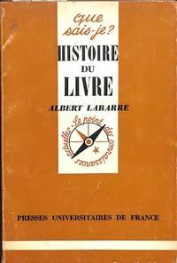 Histoire du Livre.