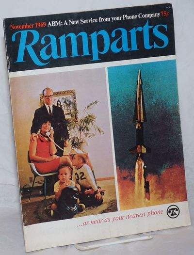 San Francisco: Ramparts Magazine, Inc, 1969. Magazine. The November 1969 issue of the influential ma...