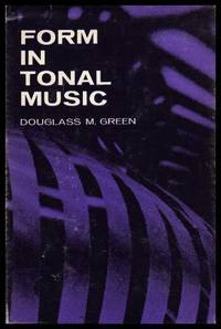 FORM IN TONAL MUSIC - An Introduction to Analysis