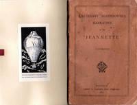 """Lieutenant Danenhower's Narrative of the """"Jeannette""""; [From the Steve Fossett Collection]"""