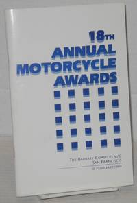 The Eighteenth Annual Motorcycle Awards: [formerly Academy Awards] February 18, 1984