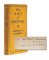 View Image 1 of 7 for The ABC of Voting: A Handbook on Government and Politics for the Women of New York State (Presentati... Inventory #3450
