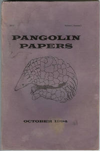 Pangolin Papers : October 1994 : Volume 1, Number 2
