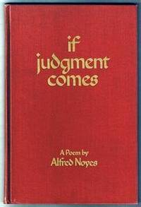 image of IF JUDGEMENT COMES A Poem