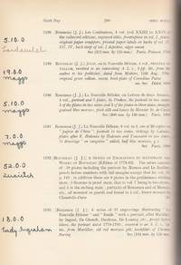 Catalogue of a Selected Portion of the Famous Library formed by the Late Mortimer L. Schiff, Esq. and Now Sold by Order of John Mortimer Schiff, Esq. of New York City. Three volumes bound together (complete)