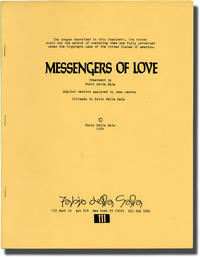 image of Messengers of Love (Original treatment script for an unproduced film)