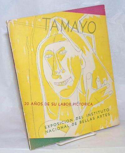 Mexico City: Instituto Nacional de Bellas Artes, 1948. Paperback. Unpaginated, wraps, 8.75 x 11 inch...