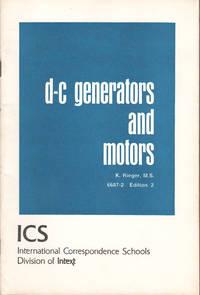 image of D-C GENERATORS AND MOTORS.