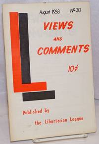 image of Views_Comments. No. 30 (August 1958)