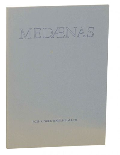 Mount Vernon, NY: Medaenas Monographs / Artist's Limited Edition, 1978. First edition. Large softcov...